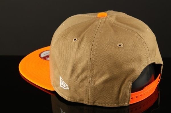 Czapka New Era Atlanta Braves Snapback Cotton Block 4 Khaki/Orange