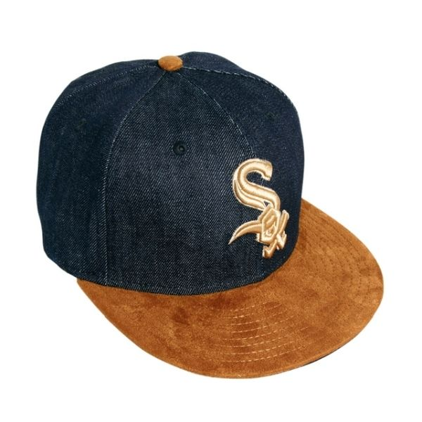 Czapka New Era Chicago White Sox Denim Suede Navy Brown