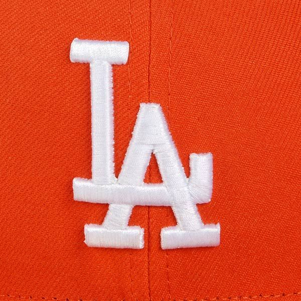 Czapka New Era LA Dodgers League Basic Orange/White