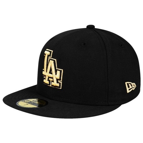 Czapka New Era LA Dodgers Metfold Black/Gold