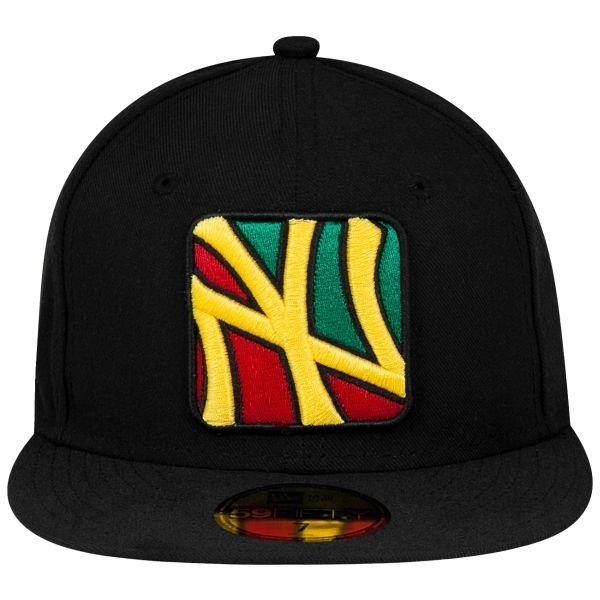 Czapka New Era New York Yankees 4 Corners Black/Scarlet/Yellow/Kelly