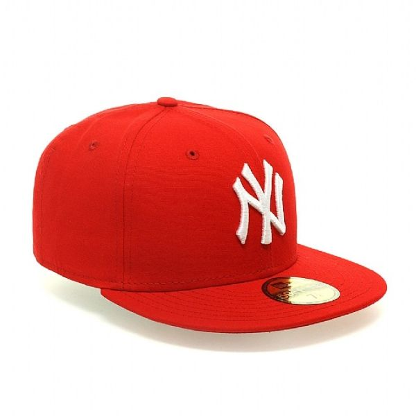 Czapka New Era New York Yankees Tri Met Scarlet/White