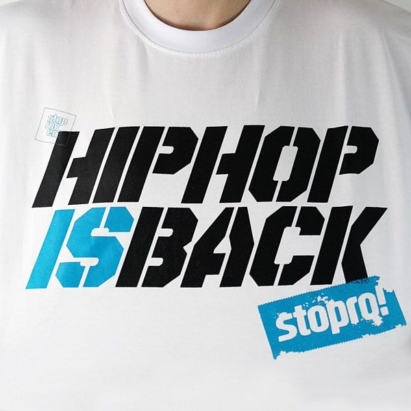 Hip Hop T Shirt Stoprocent  Hip-Hop Is Back 2