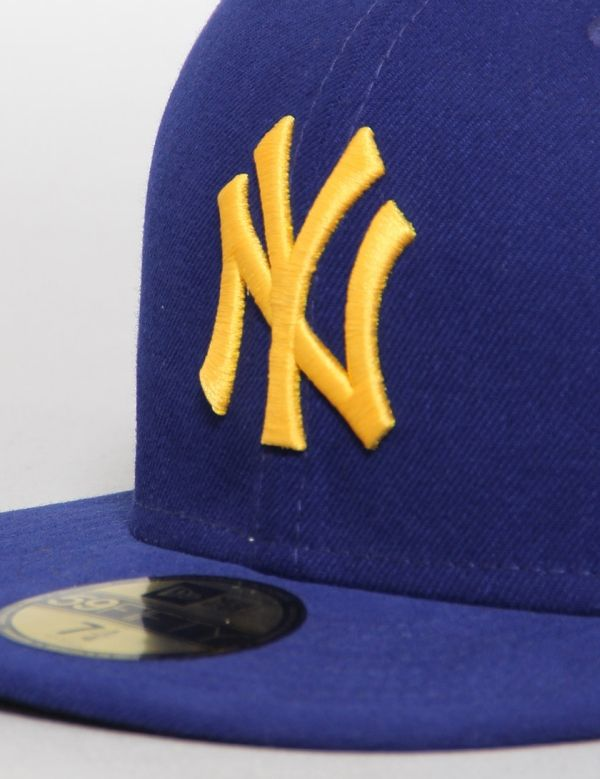 New York Yankees Seasonal Contrast Dark Royal/A Gold