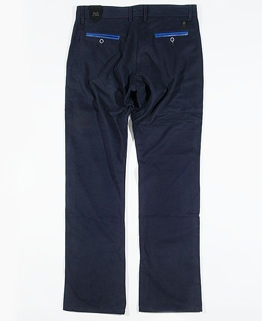 Spodnie Chinos Turbokolor Regular-fit Navy