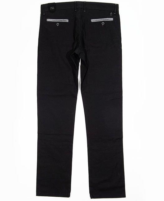 Spodnie Chinos Turbokolor Slim-fit Black