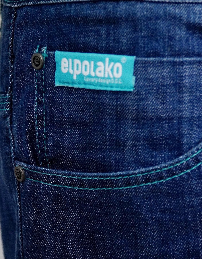 Spodnie Jeansy El Polako Half Slim Medium