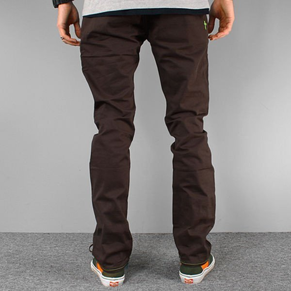 Spodnie Skate Malita Chino Dark Chocolate Slim Fit