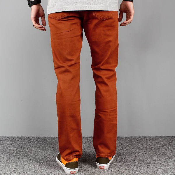 Spodnie Skate Malita Rotten Brown Slim-fit