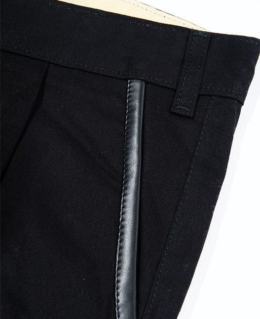 Spodnie Turbokolor Chinos Carrot-fit Black